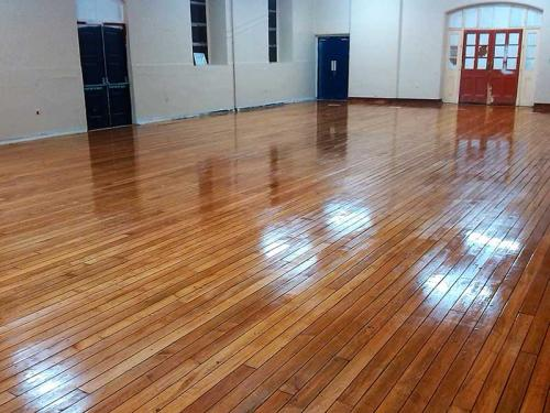 Commercial Maple Floor after