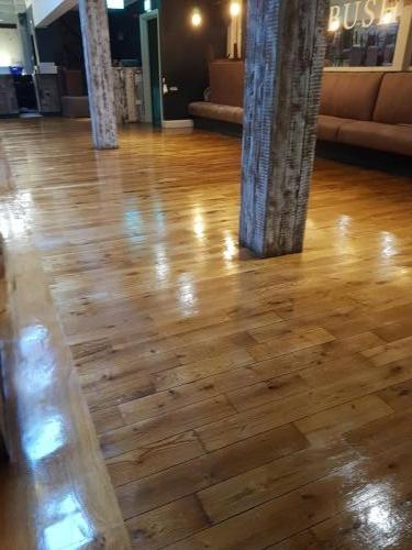 After with Pine Stain