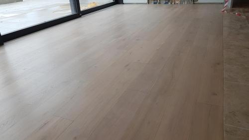 Grey Lime Wash on Oak 2
