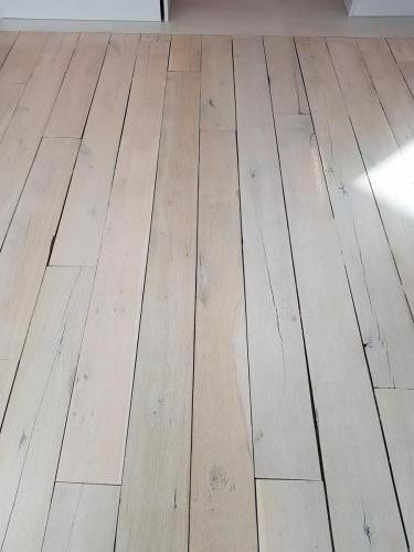 Grey Lime Wash on Rustic Oak