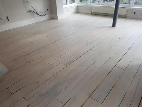 Grey Lime wash on Rustic Oak 2