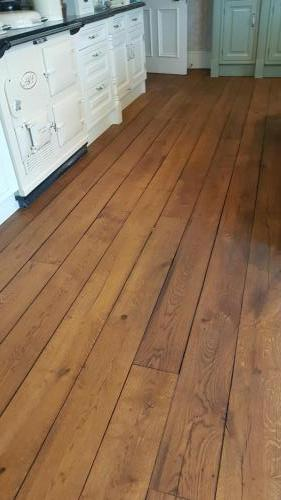 Walnut Stain on Oak Super Matt