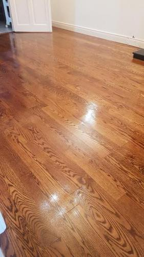 Walnut stain on Red Oak
